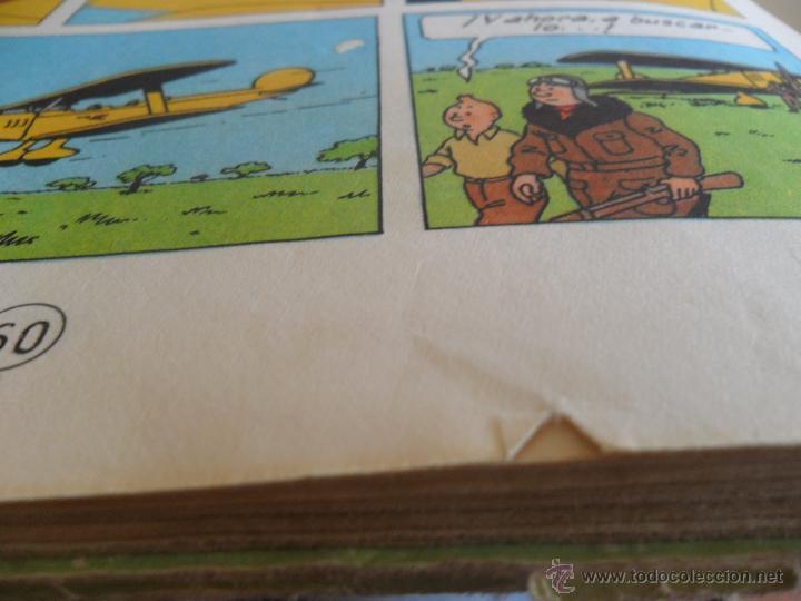 Cómics: LAS AVENTURAS DE TINTIN JUVENTUD SEGUNDA EDICION 1970 TINTIN EN EL CONGO - Foto 14 - 43883169