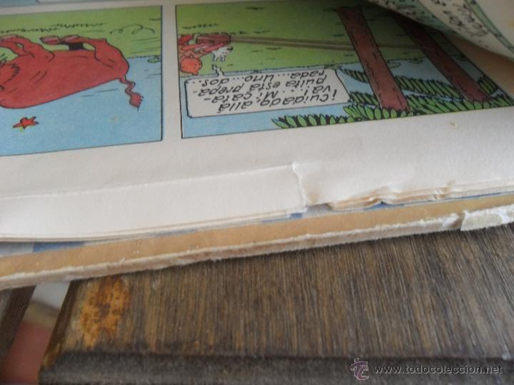 Cómics: LAS AVENTURAS DE TINTIN JUVENTUD SEGUNDA EDICION 1970 TINTIN EN EL CONGO - Foto 17 - 43883169
