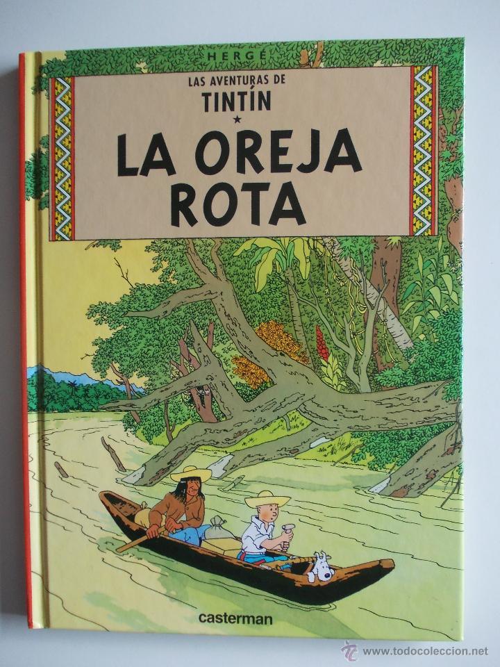 TINTIN-LA OREJA ROTA - EDICION RETIRADA DEL MERCADO - NUEVO - 2001 (Tebeos y Comics - Juventud - Tintín)
