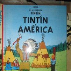 Cómics: LES AVENTURES DE TINTIN - TINTIN A AMERICA - CASTERMAN - TRADUCCION DIFERENTE QUE JOVENTUT. MUY RARO. Lote 44029486
