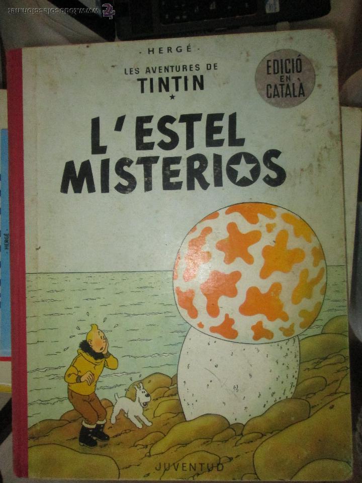 TINTIN LESTEL MISTERIOS PRIMERA EDICIO 1965 MUY RARO (Tebeos y Comics - Juventud - Tintín)
