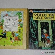 Cómics: TINTIN - VUELO 714 PARA SIDNEY , 2 EDC EDT JUVENTUD 1971, SEÑALES DE USO. Lote 44058749