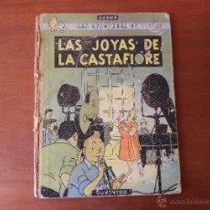 Cómics: TINTIN: LAS JOYAS DE LA CASTAFIORE 2ª EDICIÓN 1965 TAPA DURA. Lote 44162527