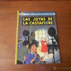 Cómics: TINTIN: LAS JOYAS DE LA CASTAFIORE ED. JUVENTUD 1989 TAPA BLANDA (RÚSTICA) VER DESCRIPCIÓN. Lote 44162599