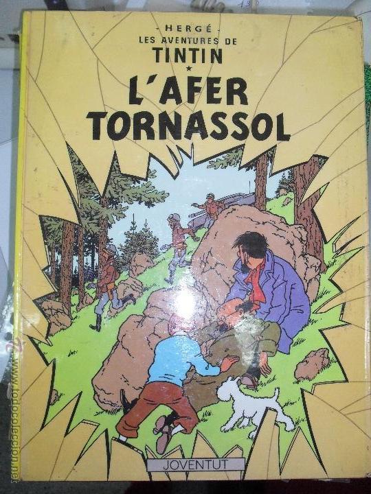 TINTIN, L'AFER TORNASSOL 1988 VUITENA EDICIO. (Tebeos y Comics - Juventud - Tintín)