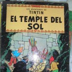 Cómics: TINTIN, EL TEMPLE DEL SOL 1984 SETENA EDICIO . Lote 44309723