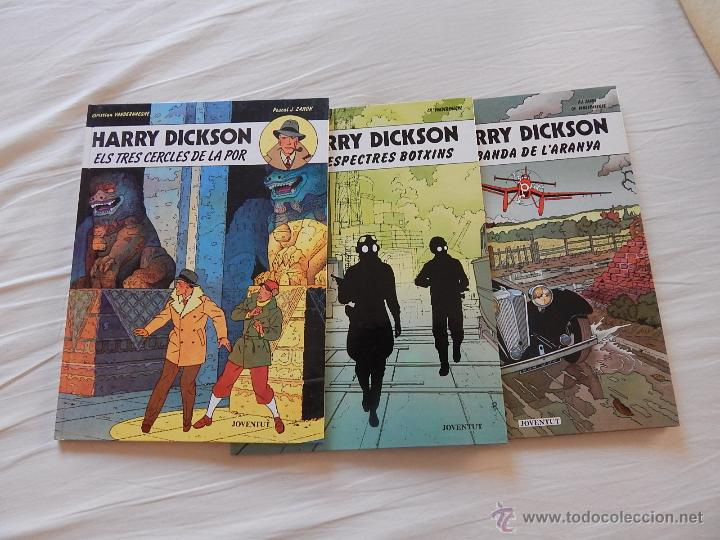 Cómics: HARRY DICKSON - COLECCION COMPLETA - 3 NUMEROS EN CATALAN - Foto 1 - 44374677