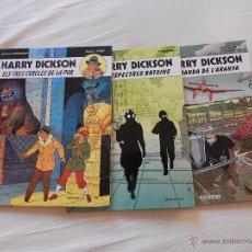 Cómics: HARRY DICKSON - COLECCION COMPLETA - 3 NUMEROS EN CATALAN. Lote 44374677