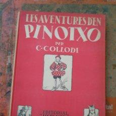 Cómics: ANTIGUO CUENTO, LES AVENTURES D´EN PINOTXO, 1ª EDICIÓN AÑO 1934. EDT JUVENTUD (VER FOTOS). . Lote 44553292