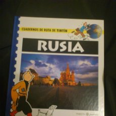 Cómics: TINTIN - CUADERNOS DE RUTA RUSIA. Lote 143355512