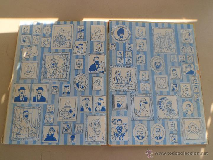 Cómics: TINTIN EN AMERICA - PRIMERA EDICION 1968 - LOMO DE TELA - Foto 8 - 44677732