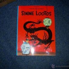 Fumetti: TINTIN IDIOMAS - EL LOTO AZUL - SININE LOOTOS - ESTONIO - IDIOMA. Lote 131303658