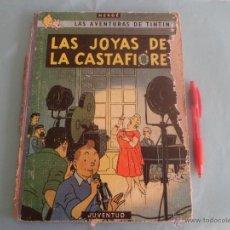 Cómics: HERGE - TINTIN - LAS JOYAS DE LA CASTAFIORE - JUVENTUD ABRIL 1964 PRIMERA EDICION. Lote 45048977