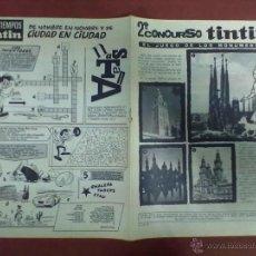 Cómics: TIN TIN Nº 19 20-II-68. Lote 45164204