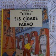 Cómics: LES AVENTURES DE TINTIN - ELS CIGARS DEL FARAO - CATALA. Lote 45260803