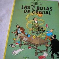 Cómics: LAS SIETE BOLAS DE CRISTAL.- TINTIN.- JUVENTUD, 1985. Lote 45293694