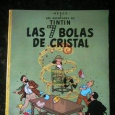 Cómics: TINTIN HERGÉ LAS 7 BOLAS DE CRISTAL. Lote 45389991