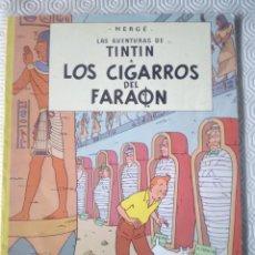 Cómics: TINTIN: LOS CIGARROS DEL FARAON DE HERGÉ. Lote 45455900