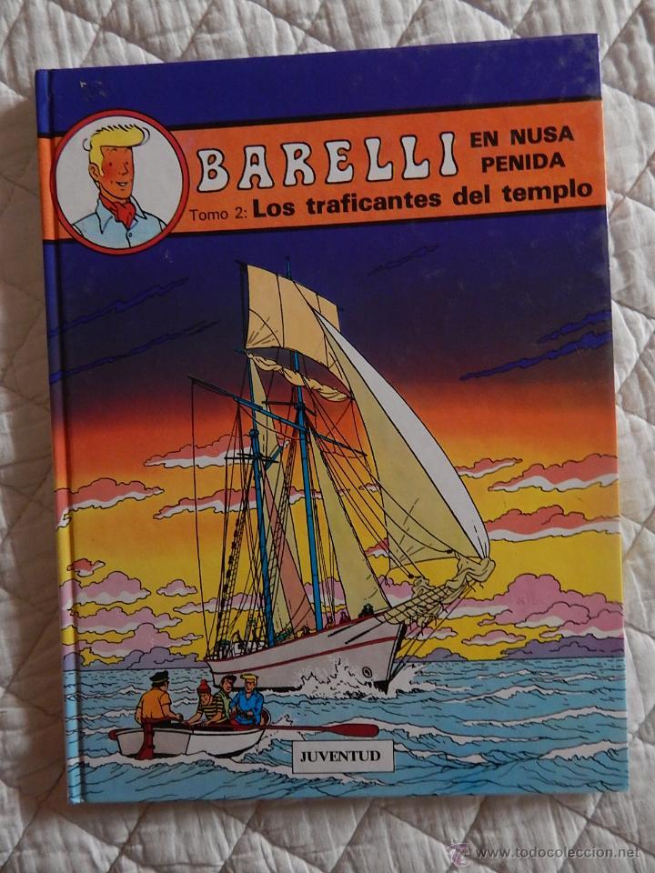 BARELLI - N. 3- EN NUSA PENIDA TOMO - 2 LOS TRAFICANTES DEL TEMPLO (Tebeos y Comics - Juventud - Barelli)