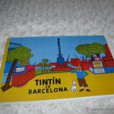 Cómics: TINTIN EN BARCELONA - UNA AVENTURA DE TINTIN Y MASSAGRAN. Lote 49746817