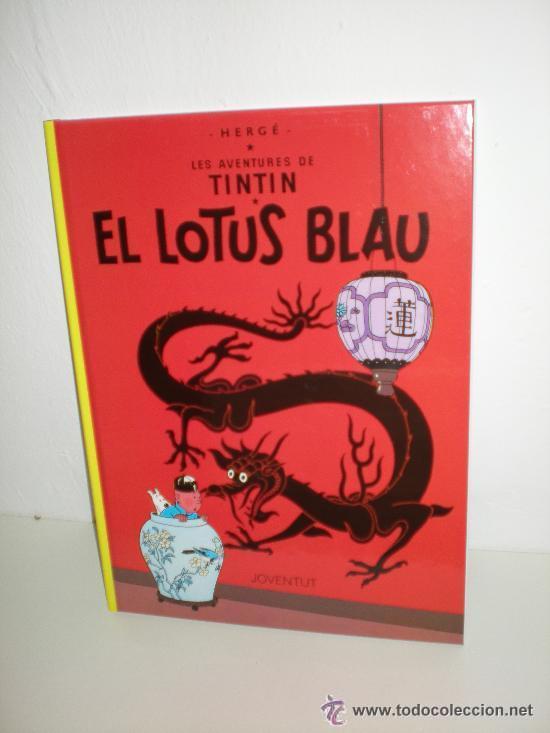 TINTÍN 5. EL LOTUS BLAU - JOVENTUT - EDICIÓ ACTUAL NUMERADA (CATALÀ) (Tebeos y Comics - Juventud - Tintín)