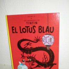 Cómics: TINTÍN 5. EL LOTUS BLAU - JOVENTUT - EDICIÓ ACTUAL NUMERADA (CATALÀ). Lote 45873908