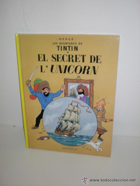 TINTIN 11. EL SECRET DE L`UNICORN - JOVENTUT - EDICIÓ ACTUAL NUMERADA (CATALÀ) (Tebeos y Comics - Juventud - Tintín)