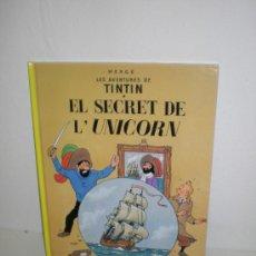 Cómics: TINTIN 11. EL SECRET DE L`UNICORN - JOVENTUT - EDICIÓ ACTUAL NUMERADA (CATALÀ). Lote 45873919