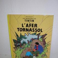 Cómics: TINTIN 18. L`AFER TORNASSOL - JOVENTUT - EDICIÓ ACTUAL NUMERADA (CATALÀ). Lote 45873941