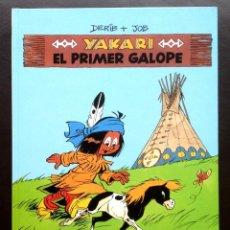 Cómics: YAKARI - EL PRIMER GALOPE - Nº 16 - ED. JUVENTUD - 1ª EDICIÓN 1988 - TAPA DURA NUEVO. Lote 46113480