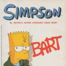 Cómics: SIMPSON. EL ARTISTA ANTES CONOCIDO COMO BART. Lote 46193203