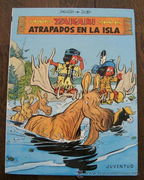 YAKARI 9 ATRAPADOS EN LA ISLA. DERIB, JOB. EDITORIAL JUVENTUD 1988. COMIC TAPA DURA (Tebeos y Comics - Juventud - Yakary)