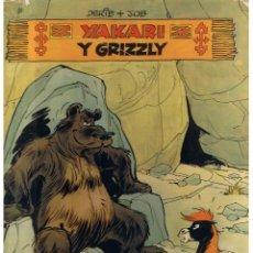 Cómics: YAKARI Y GRIZZLY. JUVENTUD, NUMERO 5 1ª EDICIÓN 1981.. Lote 46224986