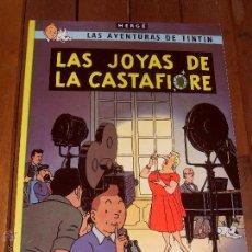 Cómics: LAS AVENTURAS DE TINTIN. LAS JOYAS DE CASTAFIORE. TAPA BLANDA (RUSTICA). JUVENTUD 2003.. Lote 46370358