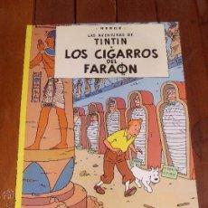 Cómics: LAS AVENTURAS DE TINTIN. LOS CIGARROS DEL FARAON. TAPA BLANDA (RUSTICA). JUVENTUD 2003.. Lote 46370572