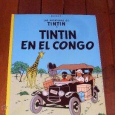 Cómics: LAS AVENTURAS DE TINTIN. TINTIN EN EL CONGO. TAPA BLANDA (RUSTICA). JUVENTUD. 2004.. Lote 46370614