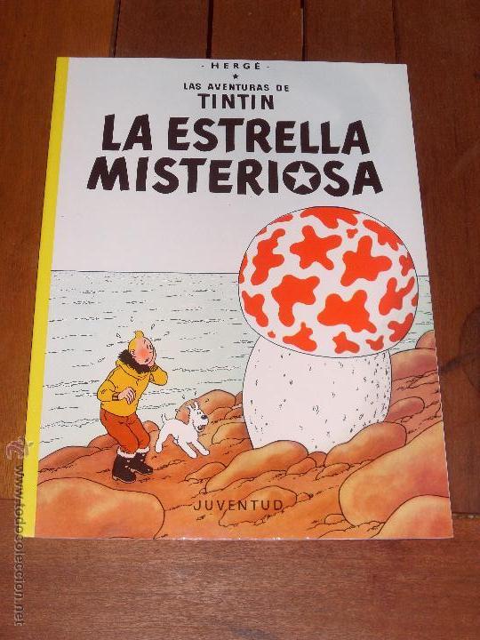 LAS AVENTURAS DE TINTIN. LA ESTRELLA MISTERIOSA. TAPA BLANDA (RUSTICA). JUVENTUD. 2003. (Tebeos y Comics - Juventud - Tintín)