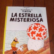 Cómics: LAS AVENTURAS DE TINTIN. LA ESTRELLA MISTERIOSA. TAPA BLANDA (RUSTICA). JUVENTUD. 2003.. Lote 105096623