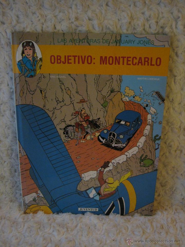 LAS AVENTURAS DE JANUARY JONES - OBJETIVO MONTECARLO N. 1 (Tebeos y Comics - Juventud - Otros)