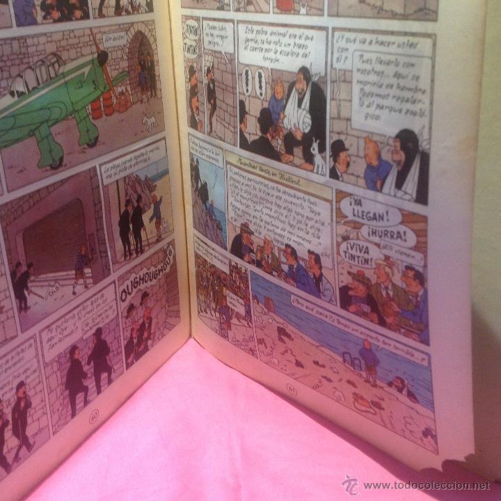 Cómics: LAS AVENTURAS DE TINTÍN (LA ISLA NEGRA)segunda edición 1967 - Foto 2 - 46513976