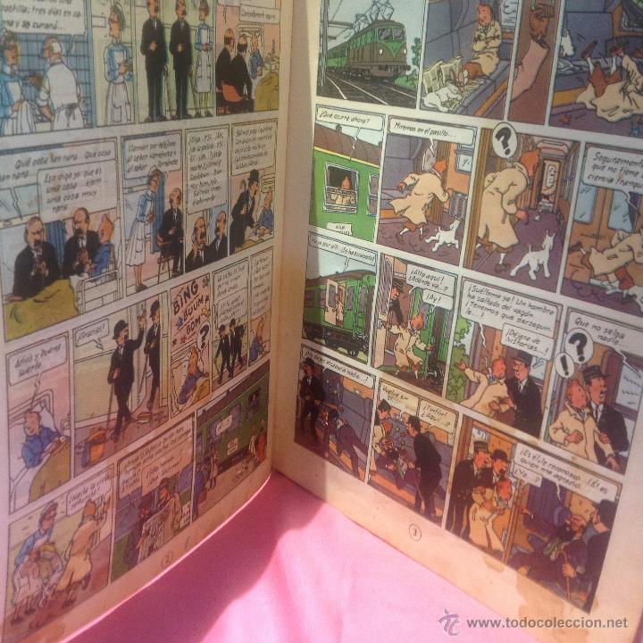 Cómics: LAS AVENTURAS DE TINTÍN (LA ISLA NEGRA)segunda edición 1967 - Foto 3 - 46513976