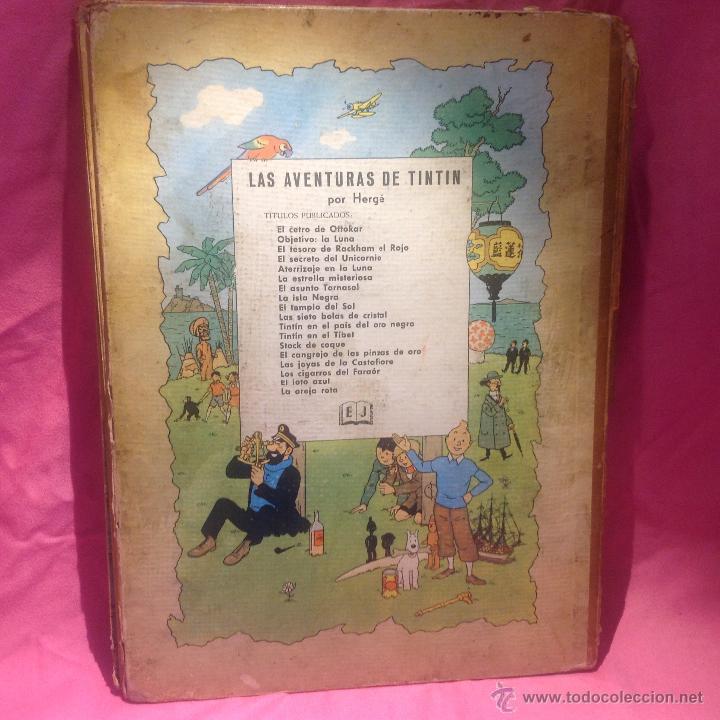 Cómics: LAS AVENTURAS DE TINTÍN (LA ISLA NEGRA)segunda edición 1967 - Foto 6 - 46513976