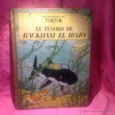 Cómics: LAS AVENTURAS DE TINTÍN (EL TESORO DE RACKHAM EL ROJO) TERCERA EDICION. Lote 46516371