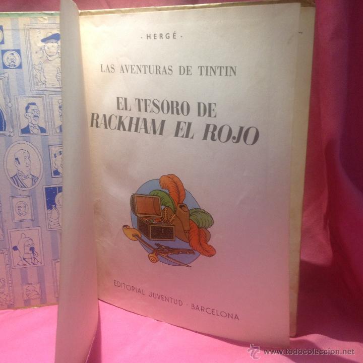 las aventuras de tintín (el tesoro de rackham e - Comprar