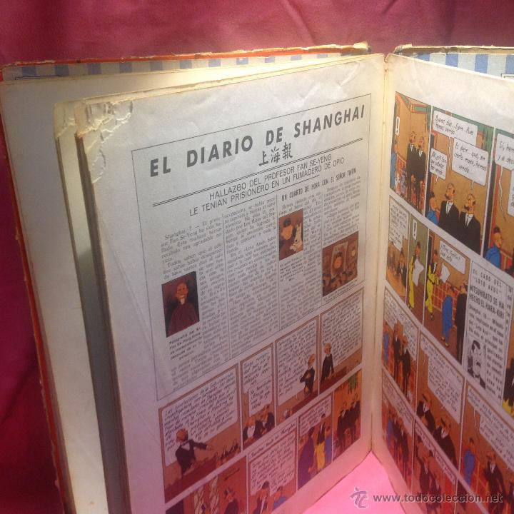 Cómics: LAS AVENTURAS DE TINTÍN (EL LOTO AZUL )primera edición 1965 - Foto 7 - 46516709