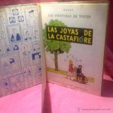 Cómics: LAS AVENTURAS DE TINTÍN (LAS JOYAS DE LA CASTAFIORE)SEGUNDA EDICCION 1965. Lote 46517147
