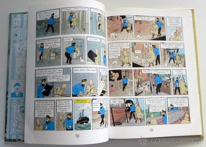 Cómics: CÓMIC CASTERMAN - TINTÍN TESORO DE RACKHAM EL ROJO -TEXTO DIFERENTE A EDICIÓN JUVENTUD - PEQUEÑO - Foto 3 - 46739270