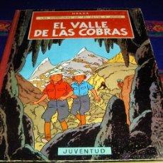 Cómics: JO, ZETTE Y JOCKO EL VALLE DE LAS COBRAS 1ª PRIMERA EDICIÓN. JUVENTUD 1972. BUEN ESTADO Y DIFÍCIL!!!. Lote 46797778