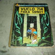 Cómics: TINTIN VUELO 714 PARA SIDNEY 1ª EDICION ABRIL 1969. Lote 46952971