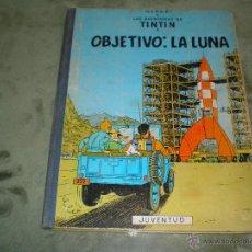 Cómics: TINTIN OBJETIVO EN LA LUNA 5ª EDICION 1969. Lote 46953094